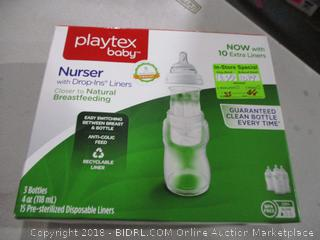 Playtex Baby Nurser with drop ins Liners