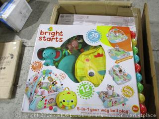 Bright Starts 5 in 1 your way to ball play