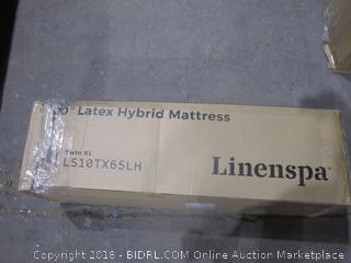 Linenspa 10 Latex Hybrid Mattress Twin XL