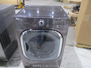 LG Clothes Dryer/ Scratched See Pictures
