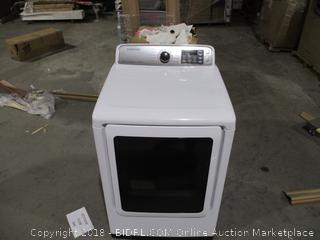 Samsung Electric Clothes Dryer Scratched See Pictures