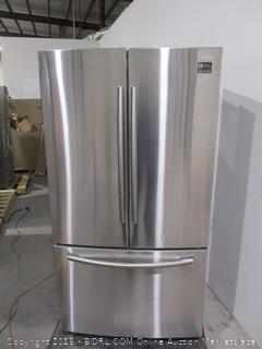 Samsung Refrigerator Powers On, Digital Inverter Technology ,dented See Pictures