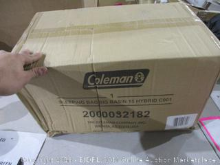 Coleman Sleeping Bag Sealed Opened for Picturing