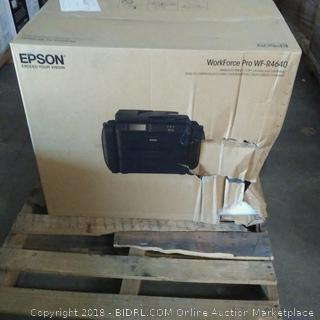 Epson WorkForce Pro WF-R4640 Wireless/Print/Copy/Scan/Fax Ethernet -See Pictures