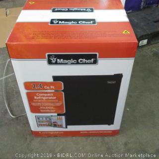 Magic Chef 2.4 Cu.Ft. Compact Refrigerator See Pictures