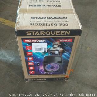 "Starqueen 12"" High Efficiency Woofer See Pictures"