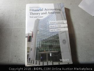 Financial Accounting Theory and Analysis  Text and Cases