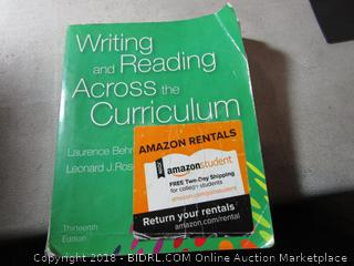Writing and Reading Across Curriculum
