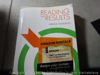 Reading in Results