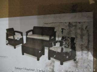 Keter Outdoor Furniture  Damaged See Pictures