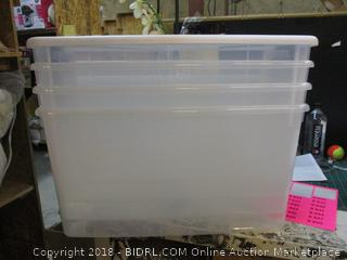 Storage Containers and Lids