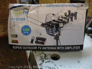 Super Outdoor TV Antenna with Amplifier