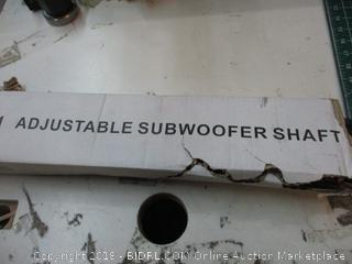 Adjustable Subwoofer Shaft