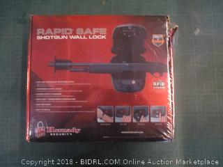 Rapid Safe Shotgun in Wall Lock