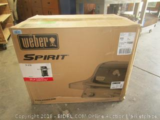 Weber Spirit LP Gas Grill / Box condition may vary