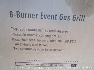 Royal Gourmet 8-Burner Event Gas Grill See Pictures