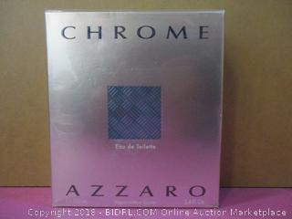 Chrome United Azzaro  Eau de Toilette Factory Sealed