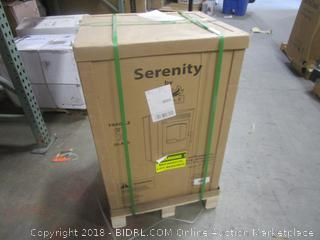Serenity By Castle Pellet Stove / Minor Damage See Pictures