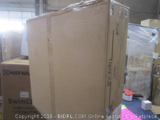 Rockwell Gas Fire Table  Sealed Package Damage See Pictures