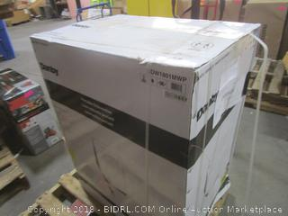 Danby Portable Dishwasher Package Damage, Sealed See Pictures