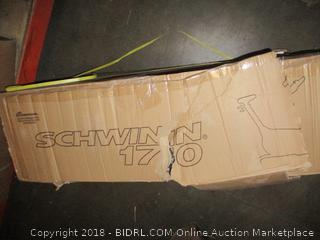 Schwinn 170 Upright Bike Package Damaged See Pictures
