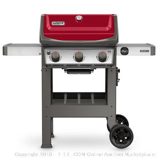 Weber 45030001 Spirit II E-310 Red LP Outdoor Gas Grill (Retail $499.00)
