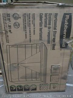 Rubbermaid Horizontal Storage Shed