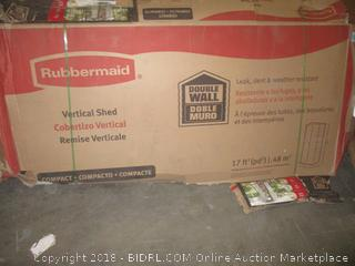 Rubbermaid Vertical Shed - Possible Missing Pieces