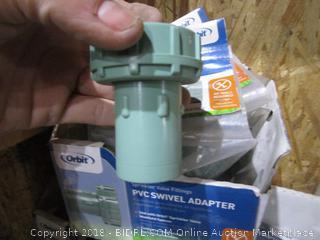 Box Lot PVC Swivel Adapter