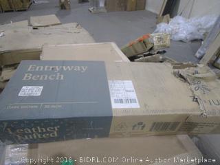 Zinus Entryway Bench