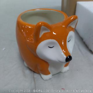 """No Fox To Give"" Fox Mug-NEW"