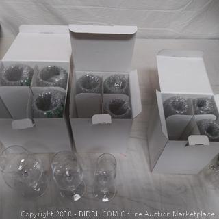 12 Piece Wine Glass Set