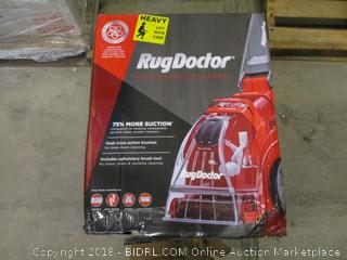 Rug Doctor  Dual Cross Action Brushes / Includes Upholstery Brush tool / Some Boxes may have some damage  See Pictures