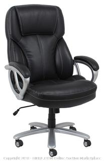 La-Z-Boy Delano Big & Tall Executive Black Office Chair (retail $236)