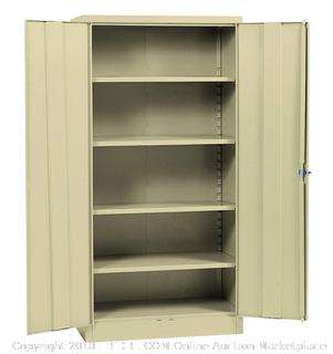 Sandusky Lee RTA7000-07 Putty Steel SnapIt Storage Cabinet 72 x 36 x 18