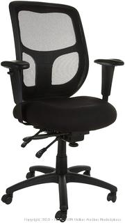 Mesh Fabric Executive High-Back Rolling Chair Black (retail $159)