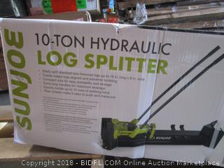 Sun Joe LJ10M Logger Joe 10 Ton Hydraulic Log Splitter