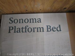 Sonoma Platform Bed Queen