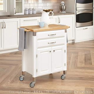 Home Styles Dolly Madison Kitchen Prep & Serve Cart (retail $269)
