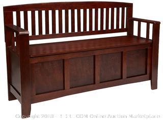 Linon Home Decor Cynthia Storage Bench