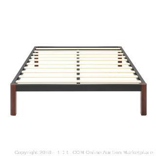 Classic Brands DeCoro Devon Platform Bed Frame Queen (retail $161)