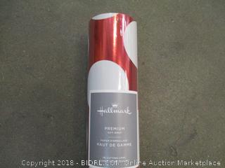Hallmark Premium Gift Wrap 100 Sq Ft  Factory Sealed