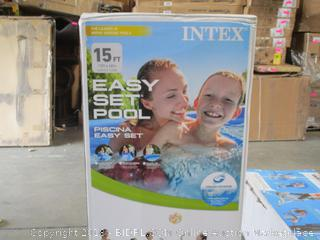Intex 15ft Above-Ground Pool