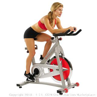 Sunny Health & Fitness Pro Indoor Cycling Exercise Bike (retail $299)