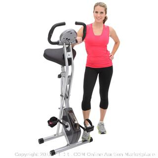 Exerpeutic Folding Magnetic Upright Exercise Bike (retail $149)