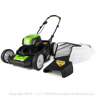 Greenworks PRO 21-Inch 80V Cordless Lawn Mower, Battery Not Included GLM801600 (Retail $263.00)