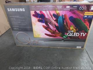 "Samsung 2018 QLED 65"" TV - Sealed - Opened for Picturing"
