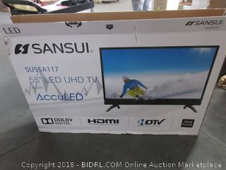 "Sansui 55"" LED UHD TV"