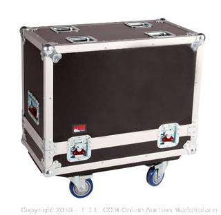 Gator Cases Tour Series Speaker Case for Two 12-Inch Speaker Cabinets G-TOUR SPKR-212 (Retail $499.00)