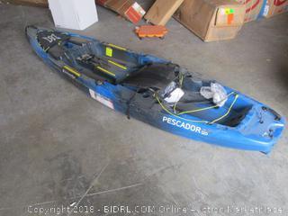 pescador fishing kayak